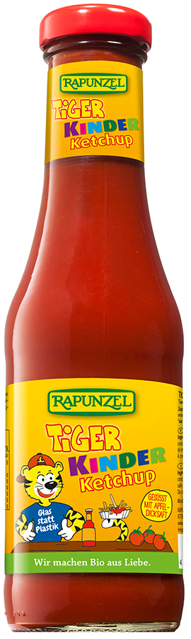 Bio dětský kečup TYGR RAPUNZEL 450 ml