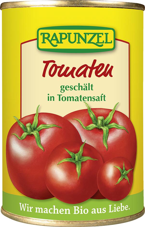 Bio rajčata loupaná 400 g