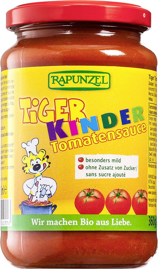 Bio TYGR dětská omáčka na těstoviny 360 g