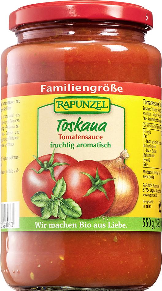 Bio TOSKANA omáčka na těstoviny 550 g