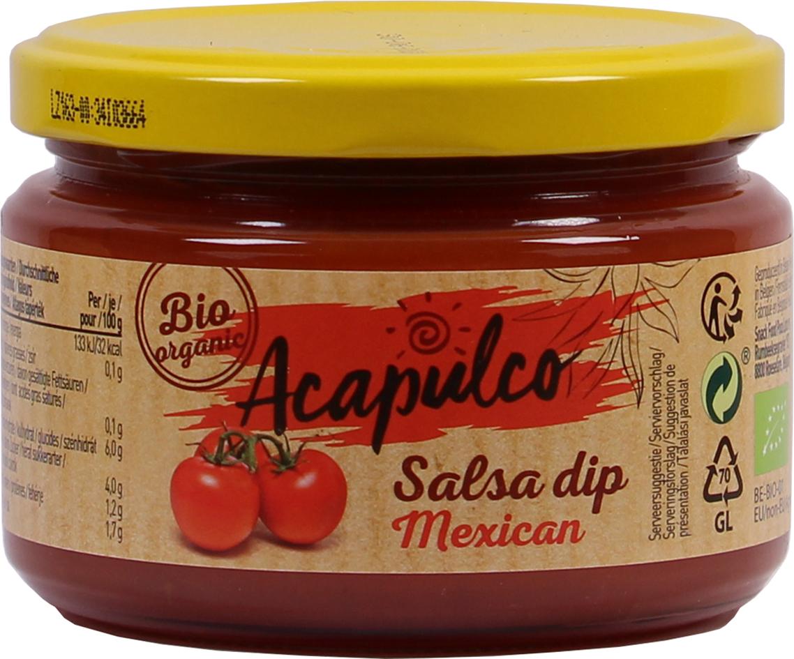 Bio Salsa dip Mexican  260 g