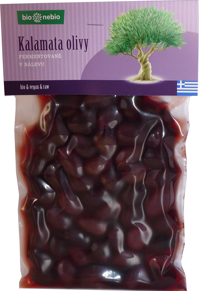 Bio kalamata olivy v nálevu bio*nebio 280 g