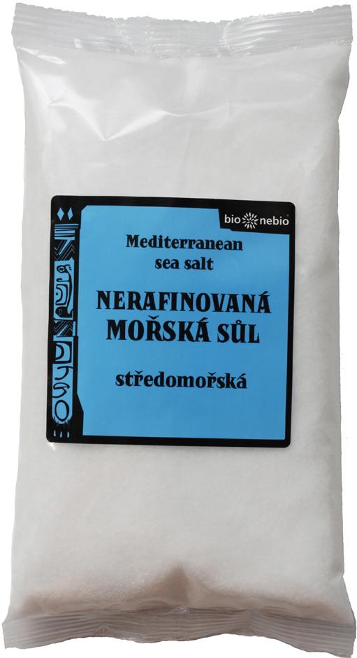Středomořská sůl nerafinovaná 500 g