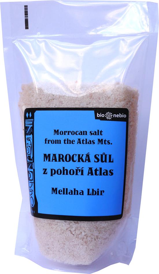 Marocká sůl z pohoří Atlas 300 g