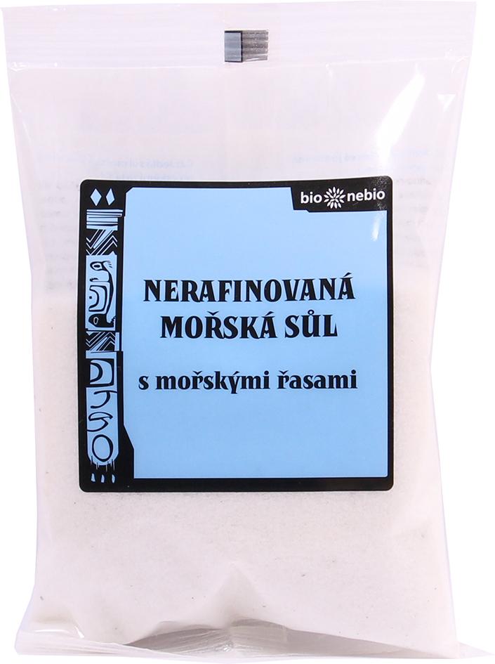 Mořská sůl jodovaná mořskými řasami 300 g