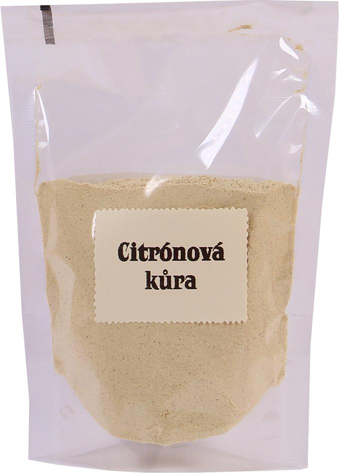 Bio citrónová kůra strouhaná sáček bio*nebio 40 g