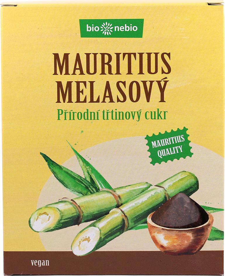 Přírodní třtinový cukr MELASOVÝ bio*nebio 300 g