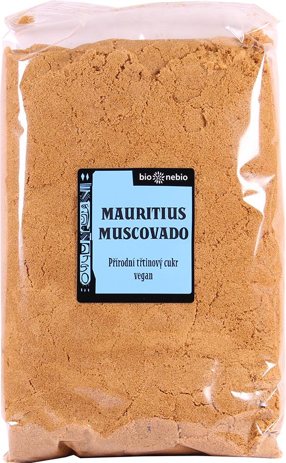 Přírodní třtinový cukr MUSCOVADO 1 kg