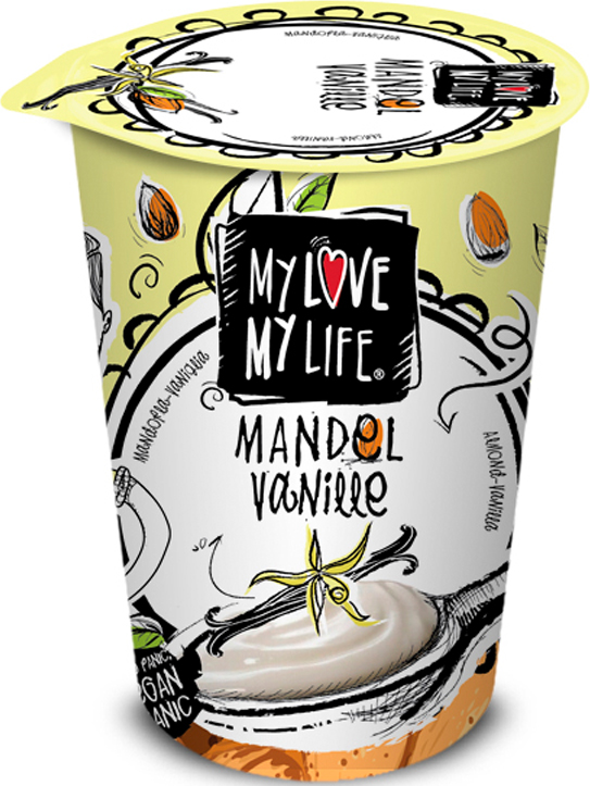 Bio zakysaný mandlový Vanilka My Love My Life 180 g