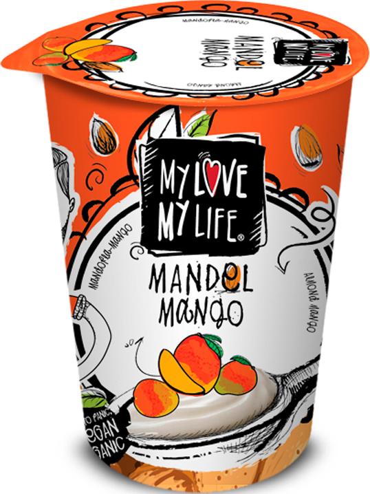 Zakysané Ň mandlové Mango 180g  BIO