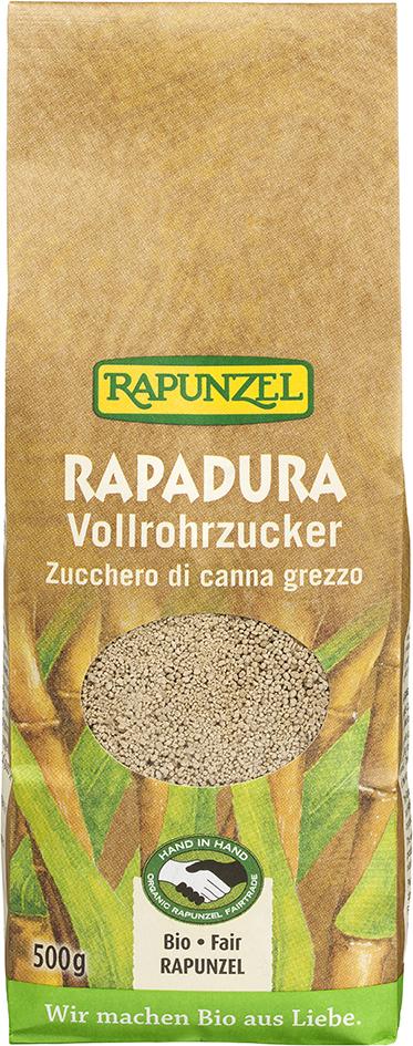 Bio sušená třtinová šťáva RAPADURA RAPUNZEL 500 g