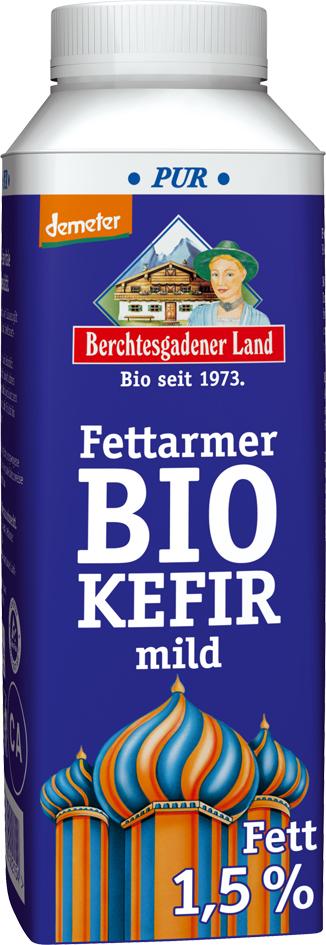 Bio kefír 1,5 % tuku, demeter 400 g