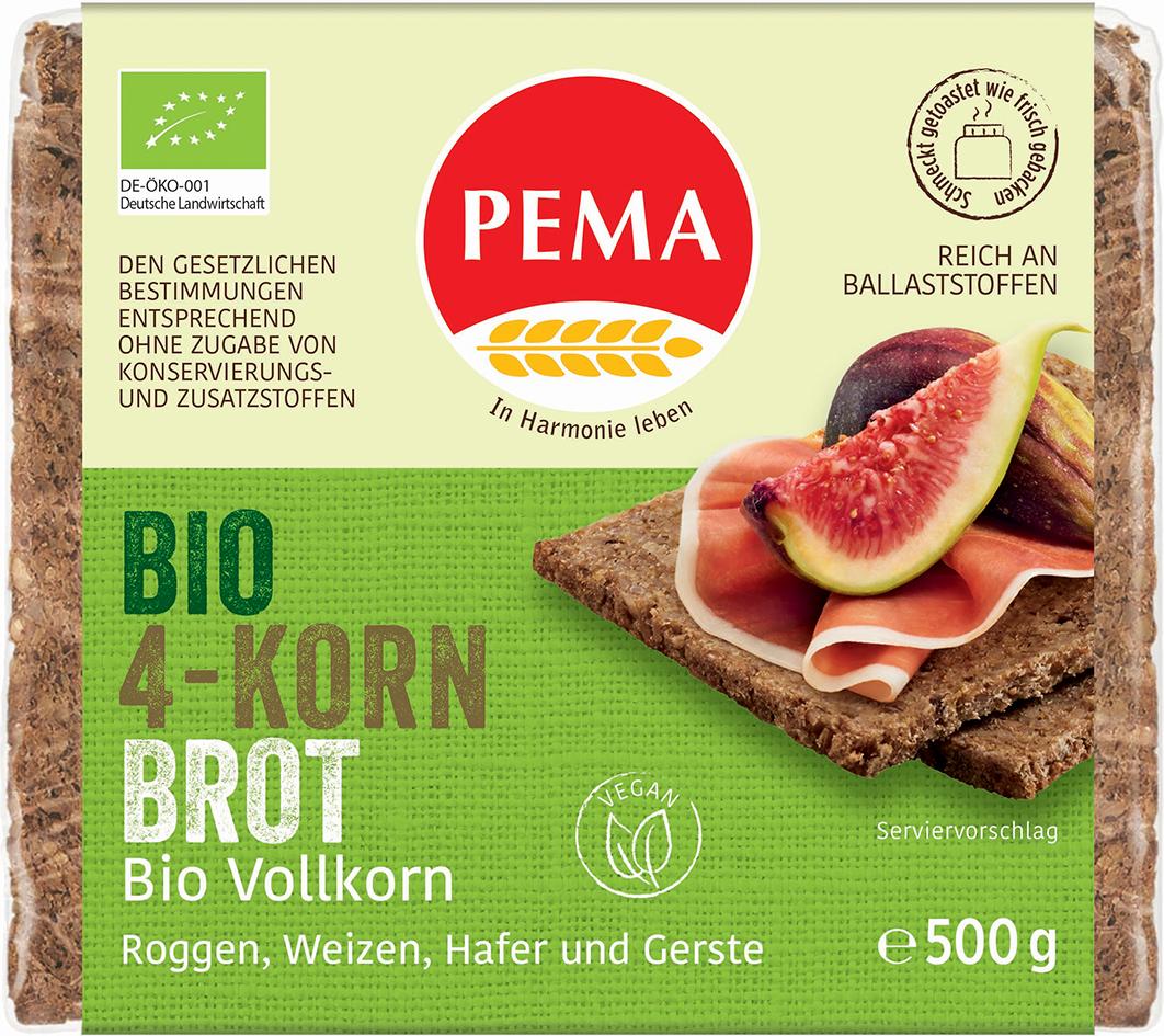 Bio vícezrnný chléb PEMA 500 g