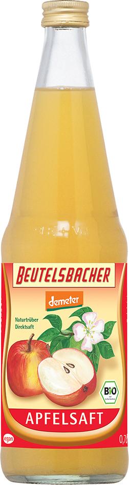 Bio jablečný mošt 100%  Beutelsbacher 0,7 l