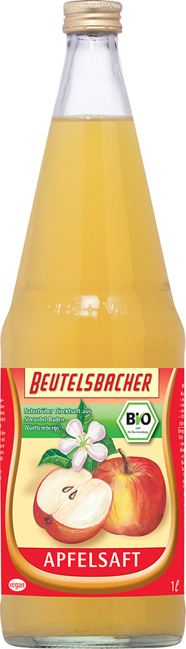 Bio jablečný mošt 100% Beutelsbacher 1 l