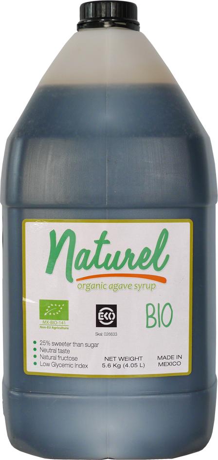 Bio sirup z agáve tmavý 4 l