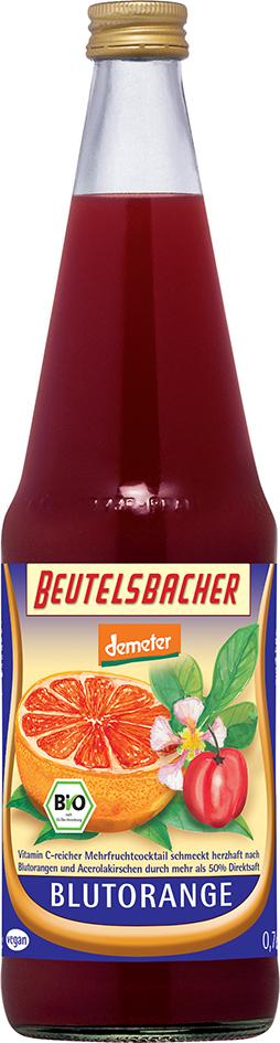 Bio nektar Červený pomeranč Beutelsbacher 0,7 l