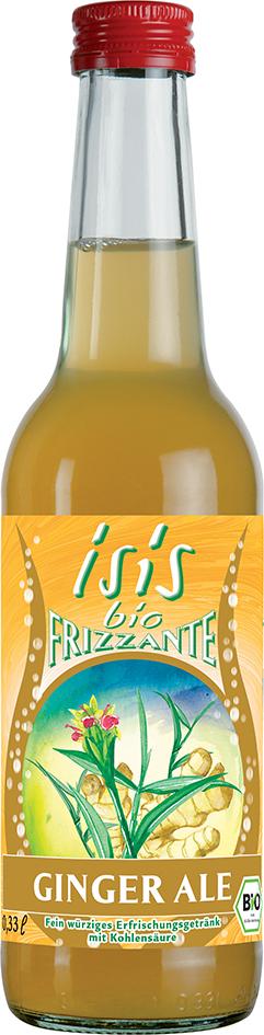 Bio Isis limonáda Ginger Ale 0,33 l