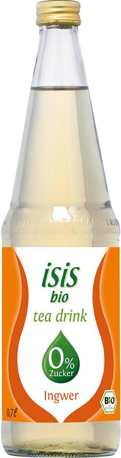 Bio Isis čajový nápoj ze zázvoru bez cukru 0,7 l
