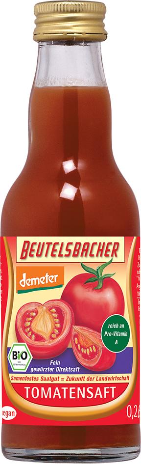 Bio rajčatová šťáva Beutelsbacher 0,2 l
