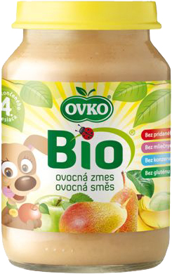 Bio ovocná směs OVKO 190 g