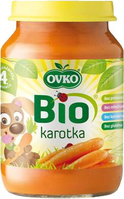 Bio karotka OVKO 190 g