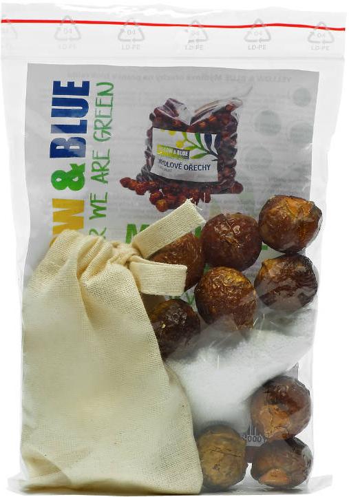 Bio mýdlové ořechy PODS testovací sada