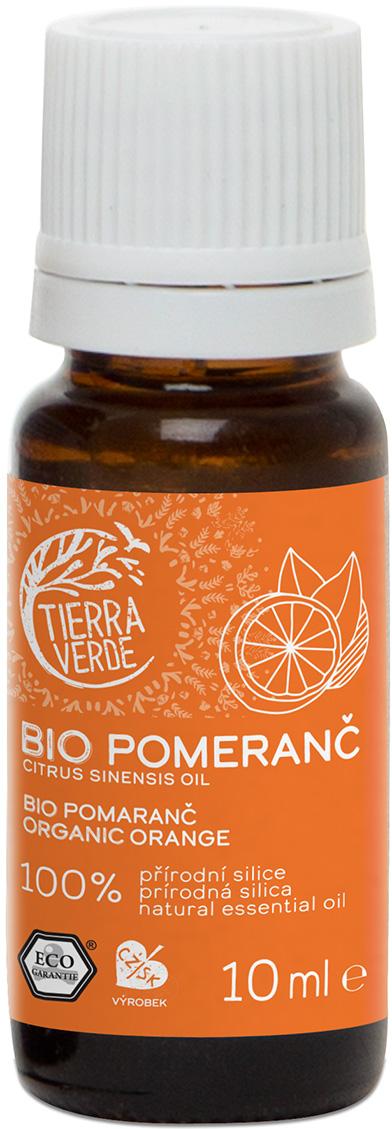 Silice Bio Pomeranč Tierra Verde 10 ml