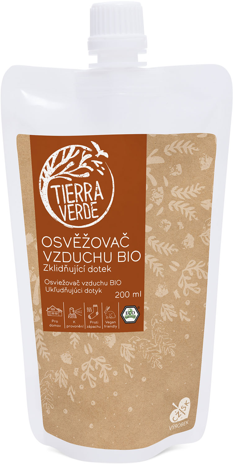 Náplň do osvěžovače Zklidňující dotek Tierra Verde 200 ml