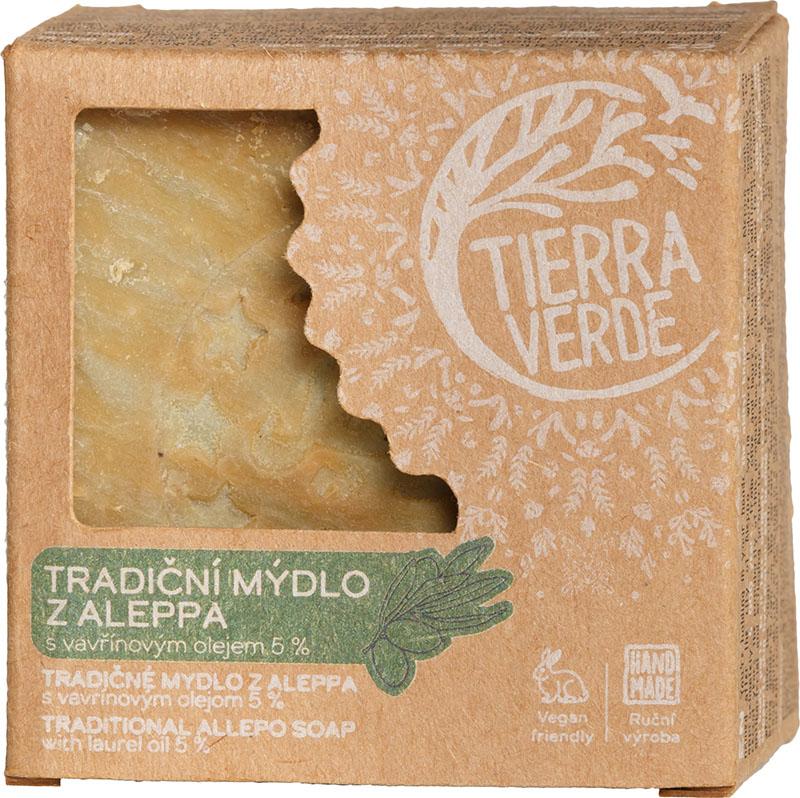 Mýdlo z Aleppa s vavřínovým olejem Tierra Verde 190 g