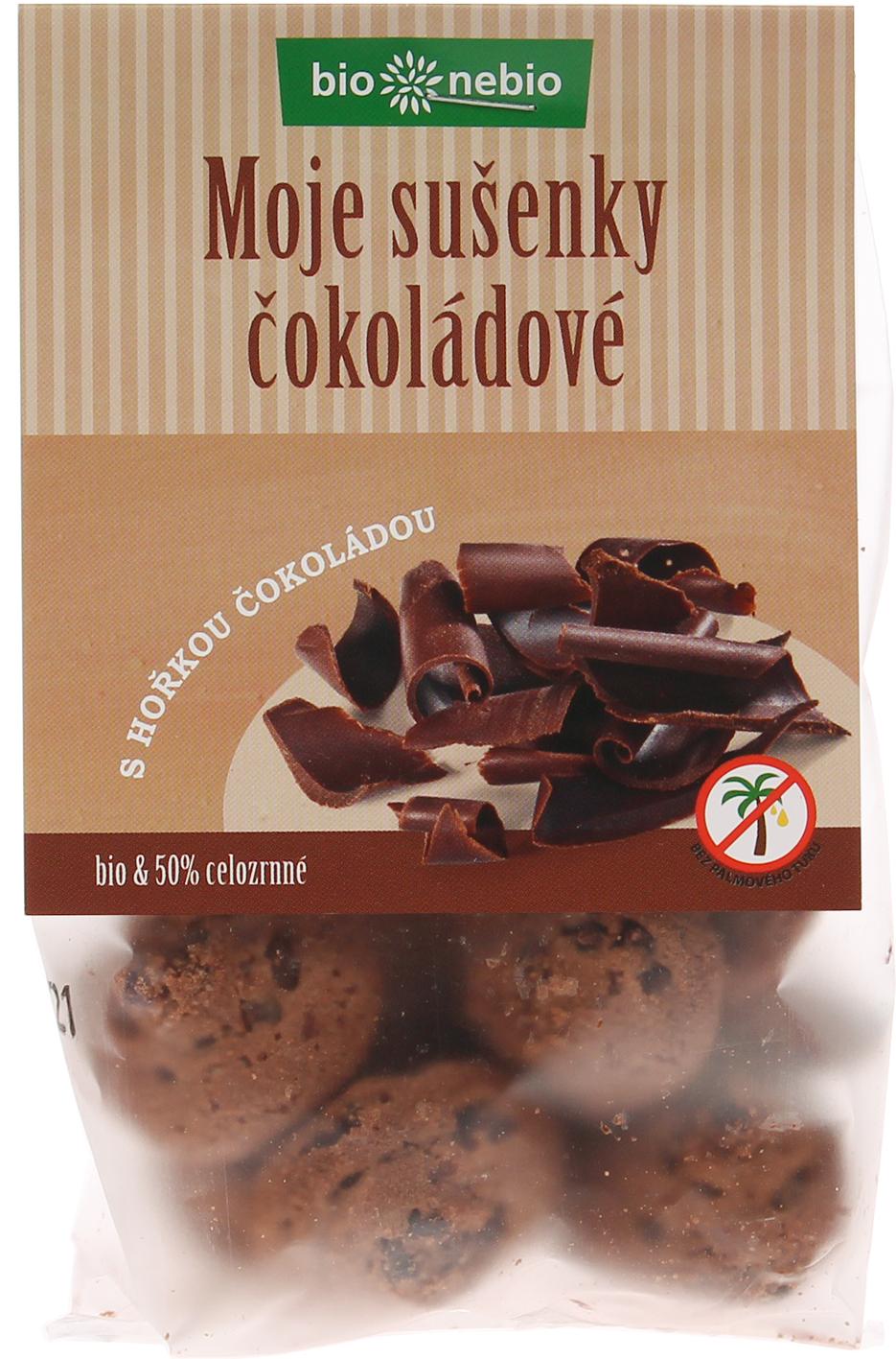 Bio MOJE SUŠENKY čokoládové bio*nebio 130 g