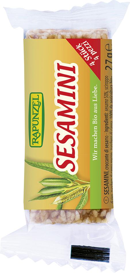Bio SESAMINI – sezamové plátky 27 g