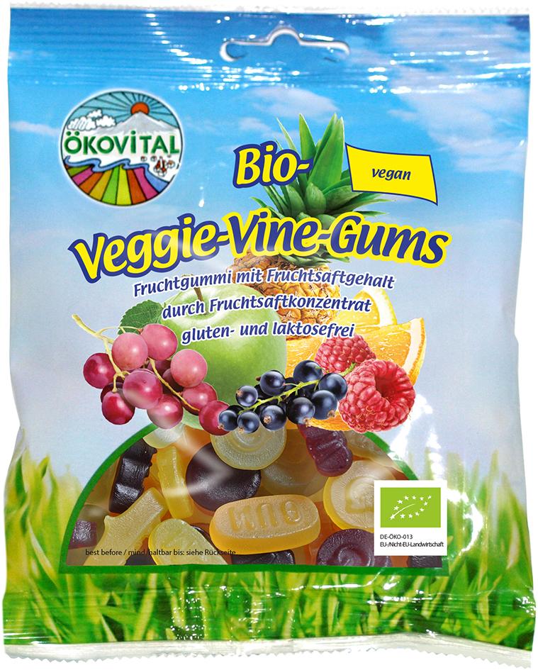 Bio želé VINNÉ vegan ÖKOVITAL 100 g