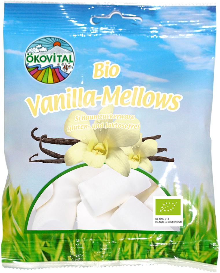 Bio vanilkové marshmallow ÖKOVITAL 100 g