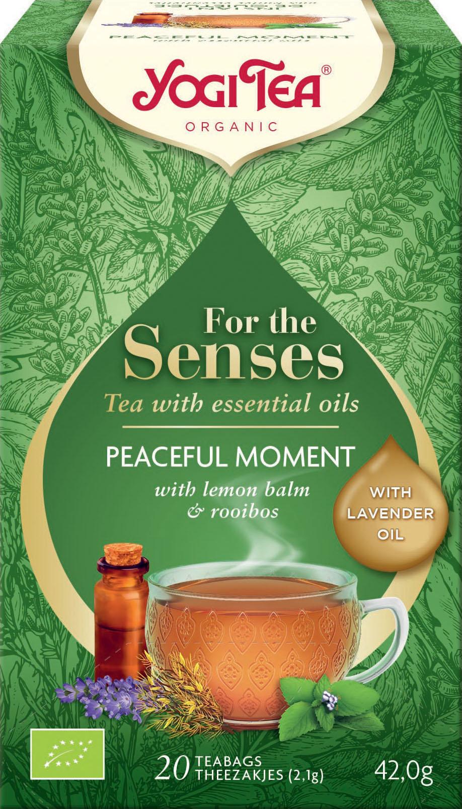 Bio Pro smysly - Chvíle klidu Yogi Tea 20 x 2,1 g