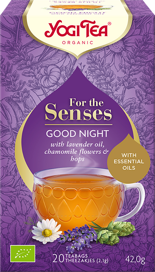 Bio Pro smysly - Dobrou noc Yogi Tea 20 x 2,1 g