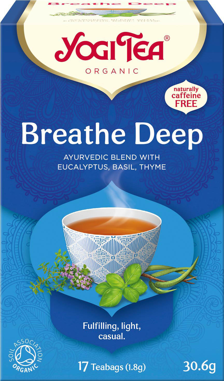 Bio Dýchej zhluboka Yogi Tea 17 x 1,8 g