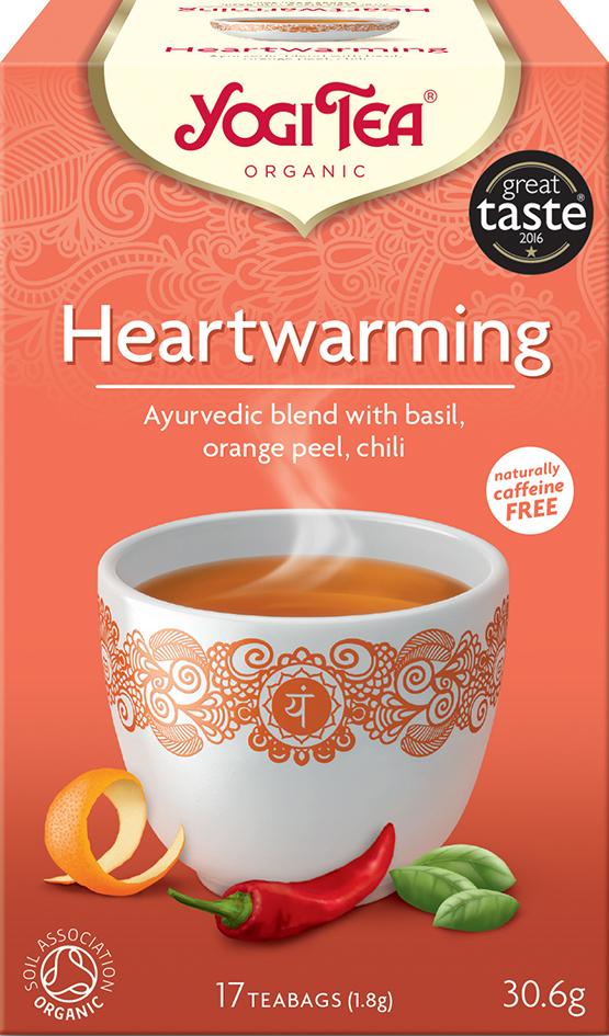 Bio Hřejivý Yogi Tea 17 x 1,8 g
