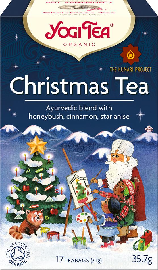 Bio Vánoční čaj Yogi Tea 17 x 2,1 g
