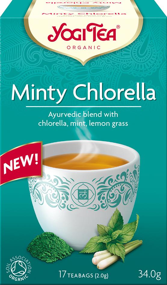 Bio Mátová Chlorella Yogi Tea 17 x 2 g