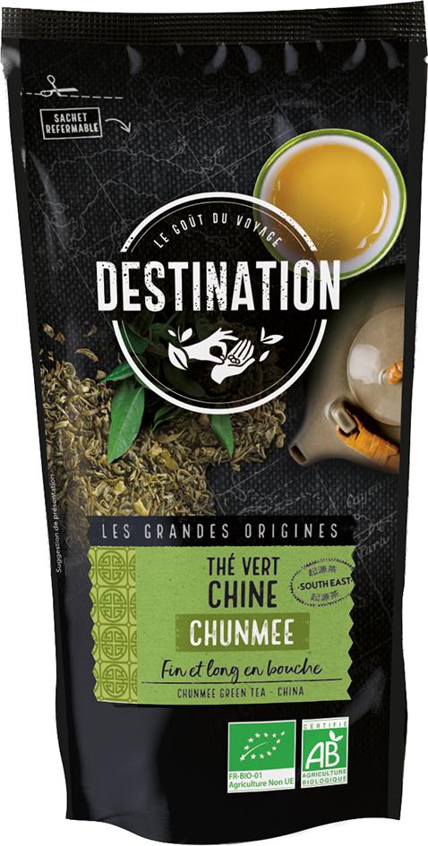 Bio zelený čaj Chunmee sypaný 100 g