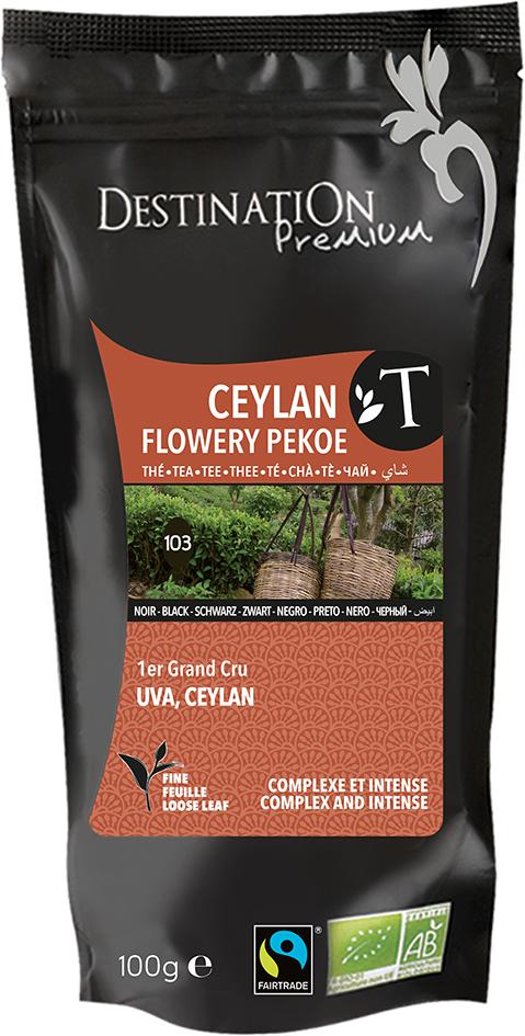 Bio černý čaj Flowery Pekoe 100 g