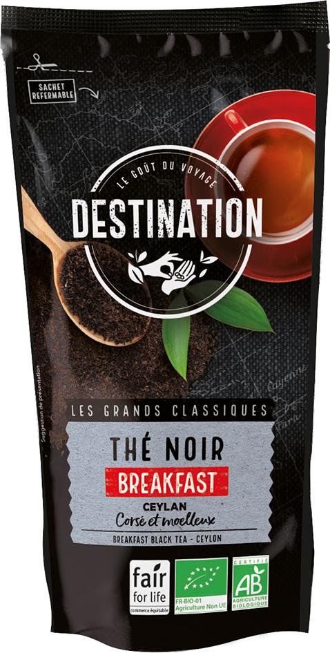 Bio černý čaj Breakfast Ceylon 100 g