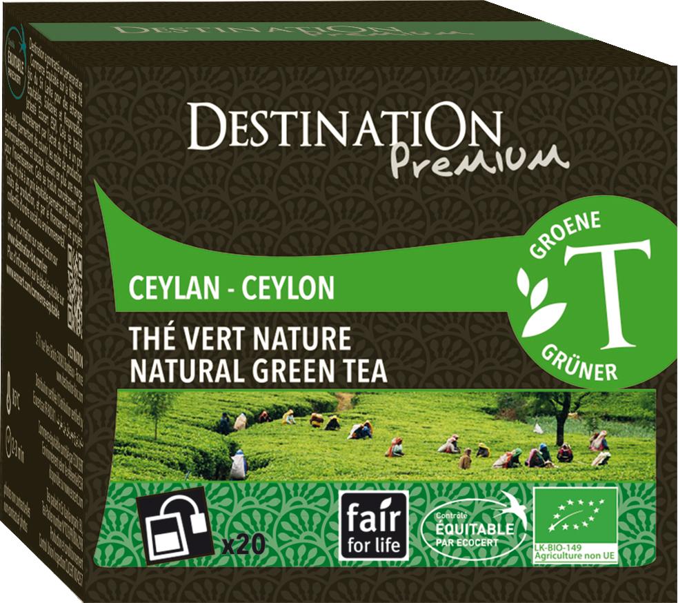 Bio zelený čaj Nature sáčkovaný 20 x 2 g