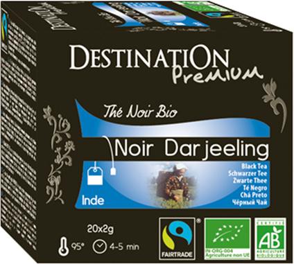Bio černý čaj Darjeeling 20 x 2 g