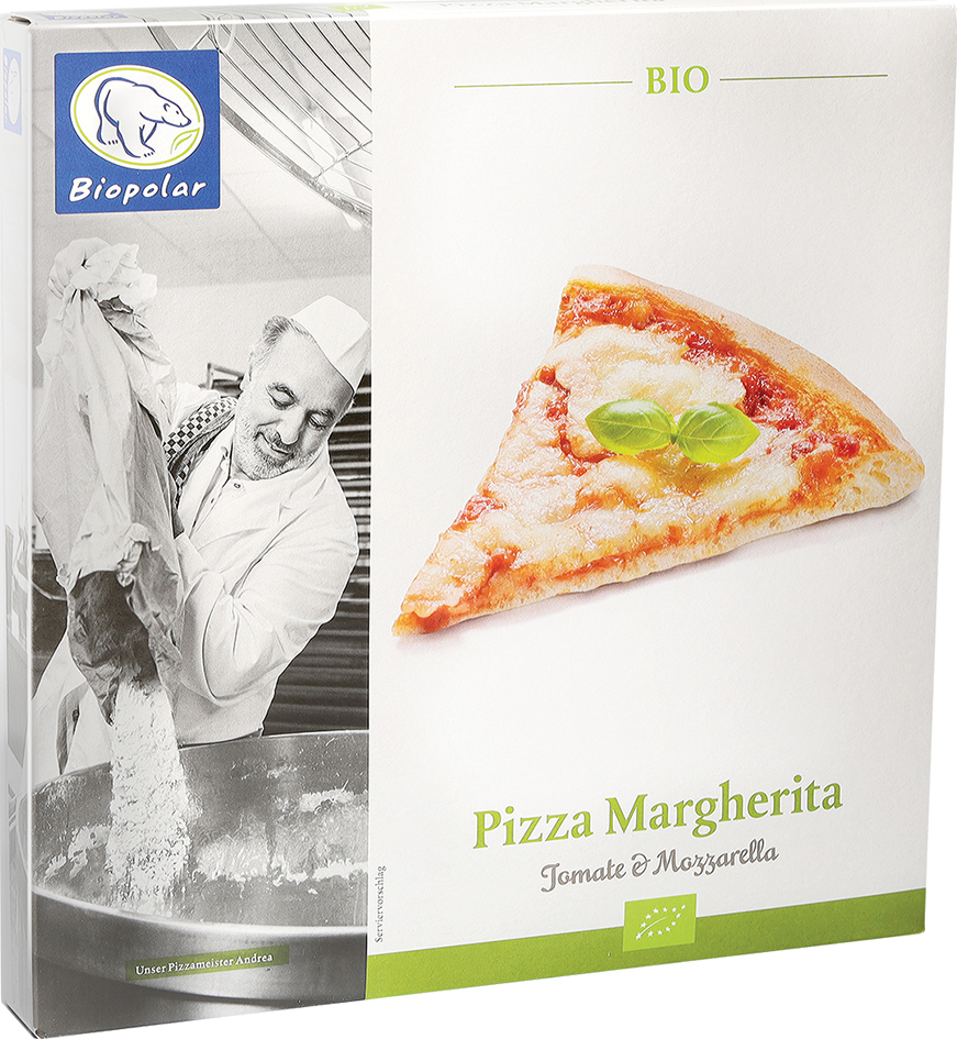 Pizza Margherita 310g BIO