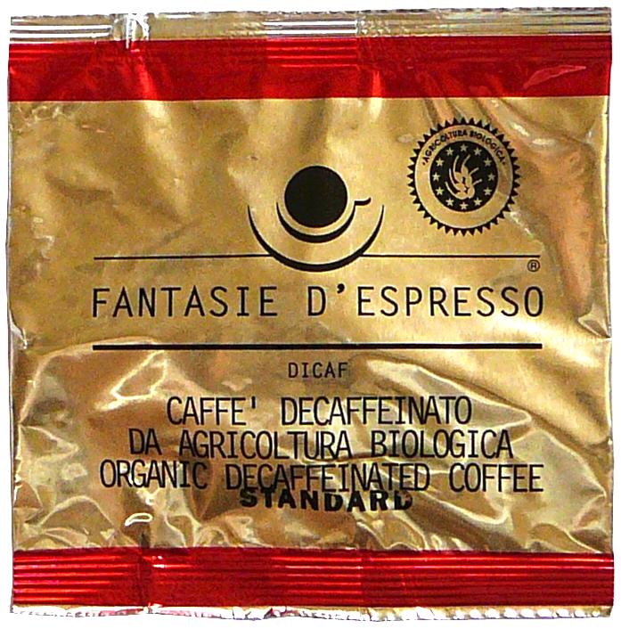 Bio káva bez kofeinu polštářky DiCaf 7 g