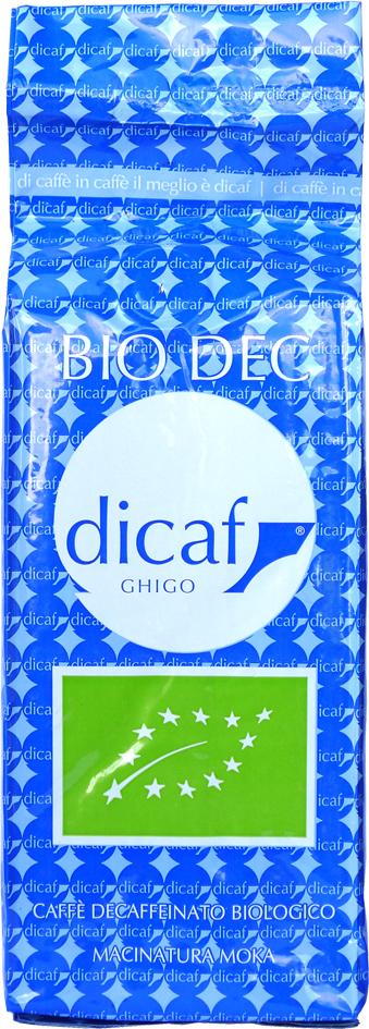 Bio káva bez kofeinu zrnková DiCaf 1 kg