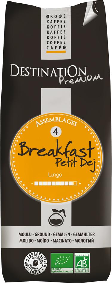 Bio káva mletá Breakfast 250 g