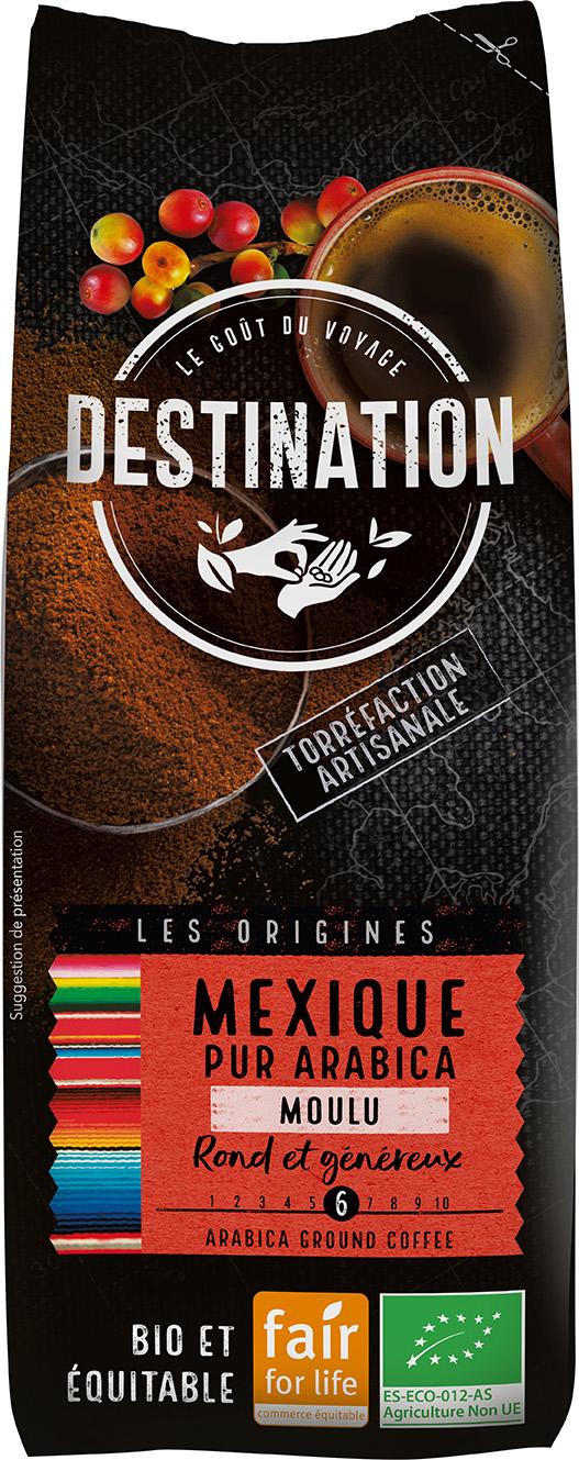 Bio káva mletá Mexiko Destination 250 g